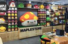 Video Game-Inspired Pop-Ups - The Maple Store Pop-Up Sold Merchandise for the Online Game MapleStory