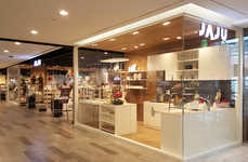 Homey In-Store Displays - The JAJU Retail Spaces Consist of a Series of Lifestyle Vignettes