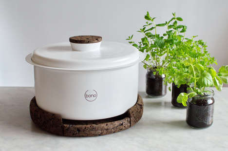 Nutrient-Extracting Composters - Ala Sieradzka's 'Bono' Converts Food Scraps into Plant Fertilizer