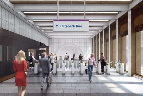 Stylish Public Transit Stations