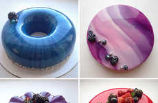 Glass-Finish Cakes