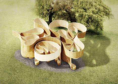 Contemporary Park Pavilions