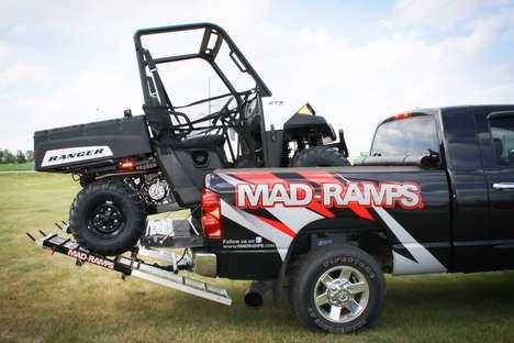 Pickup Truck ATV Ramps