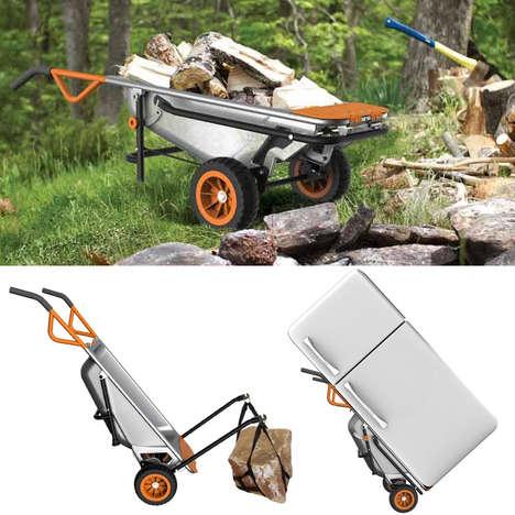 Multifunctional Garden Carts