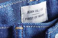 Recycled Cotton Jeans - The Newest Levi's Jeans are Made Out of Old Cotton T-Shirts