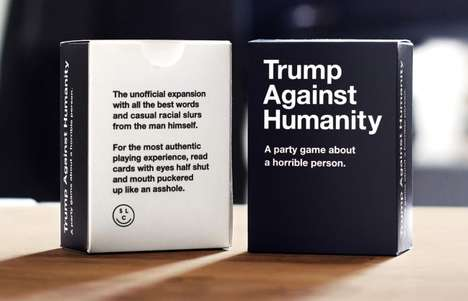 Comically Insulting Card Games - This New Cards Against Humanity Game Mocks Donald Trump