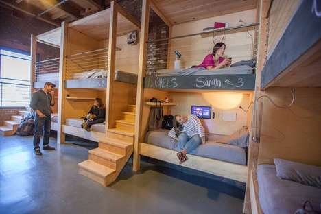 Mobile Worker Residences - 'PodShare' is a Working and Living Community Space for Individuals