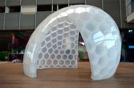 Artistic Plastic Igloos
