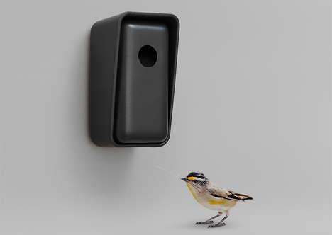 3D-Printed Birdhouses