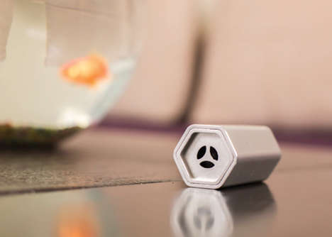Wearable Air Purifiers - The Breathe Device is a Small-Scale Filter System Designed for Personal Use