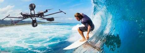 VR Content-Recording Drones