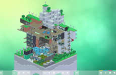 Urban Planning Games - The Block'hood Video Game Encourages Thinking About Sustainable Growth