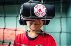 VR-Powered Stadium Experiences - The Boston Red Sox VR Concept Transports Fans Behind the Scenes
