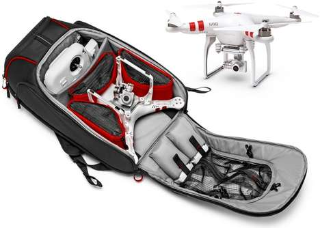 Drone-Stashing Backpacks