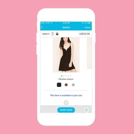 Swipeable Shopping Service