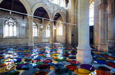 Reflective Rainbow Exhibits