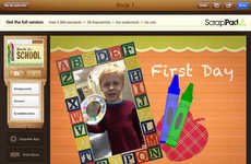 Back-to-School Scrapbooking Apps - 'ScrapPad' Helps Parents with Print and Digital Scrapbooking