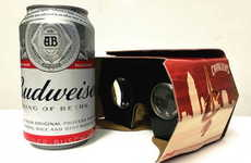 Beer-Holding VR Headsets - The Cleveland Cavaliers VR Headsets Double as Beer Holders