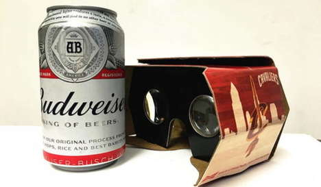 Beer-Holding VR Headsets