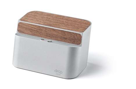 Magnetic Wireless Phone Chargers - The Drop Dock is Compatible with Androids and iPhones
