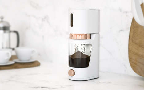 Freshness-Detecting Coffee Grinders - This Smart Coffee Grinder Can Detect the Freshness of Beans