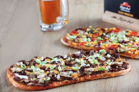 Beer-Infused Pizza Crusts - This Chain is Bringing Beer and Pizza Together in a Unique Way
