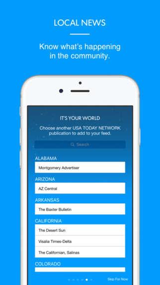 Virtual News Apps