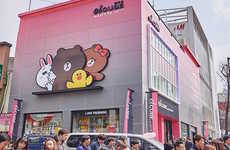 Compact Korean Shopping Malls - The Lotte El Cube Mall Caters to Young, Fashion-Conscious Shoppers