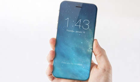 All-Screen Smartphone Concepts - Apple Has Published a Patent for an All-Screen iPhone