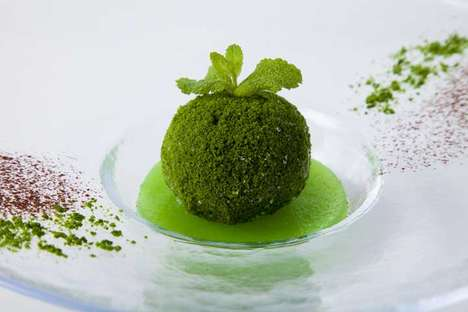 Earthy Ice Desserts - Kokedama Ice will Be Available at the Oirase Keiryu Hotel This Summer