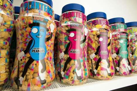 Celebratory Peanut Jars