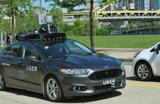 Self-Driving Rideshare Vehicles - Uber is Testing Self-Driving Technology in Pittsburgh