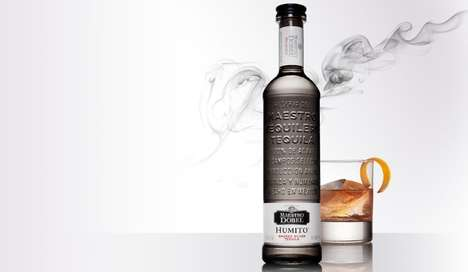 Smoke-Infused Tequilas - The Maestro Dobel Humito Silver Tequila is Made with 100% Blue Weber Agave