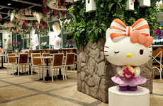 Cartoon Cat Airport Cafes