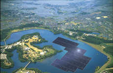 Floating Solar Power Plants - This Japanese Plant Will Accommodate the Rise in Clean Energy