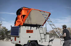 Weather-Resistant Camping Trailers - The Base Trailer Provides a Comfortable Home Away from Home