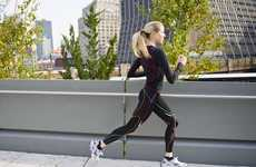 Stress-Reducing Tights - The CW-X Women's Stabilyz Tights Support Legs During Fitness Regimes