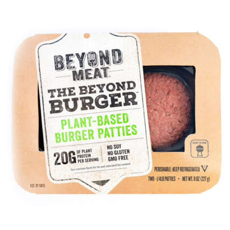 Fresh Veggie Burgers - These Plant-Based Burger Patties are Sold in the Refrigerated Case
