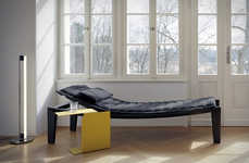 Luxe Meditational Daybeds - The Ulisse Daybed is Designed for Relaxing Sessions of Tranquility