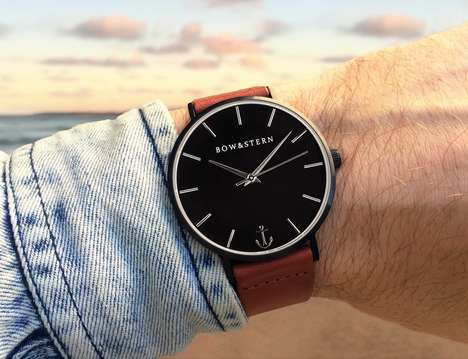Customizable Masculine Timepieces