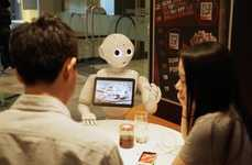 Robotic Pizzeria Waiters - Pizza Hut Restaurants in Asia will Feature a Pepper Robot as a Waiter
