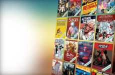 Unlimited Comic Subscriptions - The Comixology Service Allows Digital Access to a Comic Book Library
