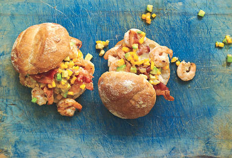 Mexican Seafood Sandwiches