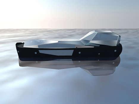 Mirrored Boat Installations