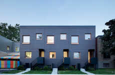 Space-Maximzing Residence Buildings - This Black Building Uses a Minimalist Design to Maximize Space