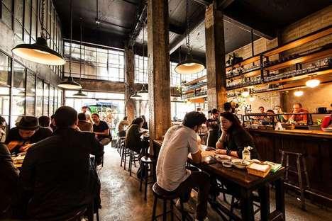 Modern Torteria-Inspired Eateries