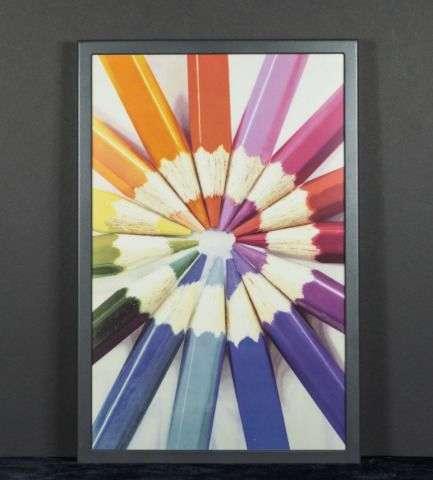 Multicolor Paper Display Billboards
