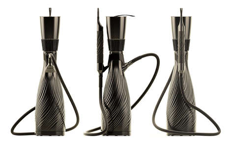 Sleek Hi-Tech Hookahs