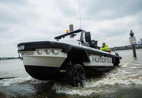 Amphibious City Taxis
