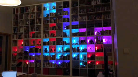 Digital Puzzle Bookshelves